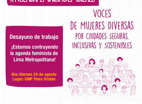 Desayuno de Trabajo hacia una Agenda Feminista en Perú