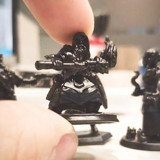 Impressão 3D de figuras de ação - Projeto mini action figures