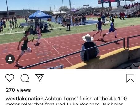 Chaps Gold 4X100 Meter Relay-Congrats Luke Respass, Nicholas Watanabe, Curvin Prince & Ashton Torns
