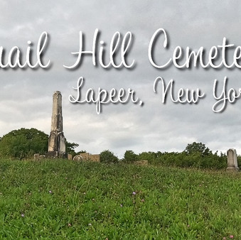 Quail Hill Cemetery in Lapeer, New York (video)
