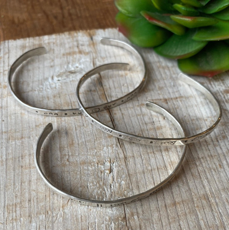 Silver Elements: Sterling Silver bangle braclets