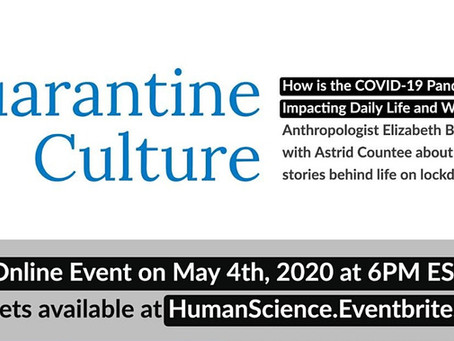How is the COVID-19 Pandemic Impacting Daily Life and Work? Free Interactive Conversation May 4