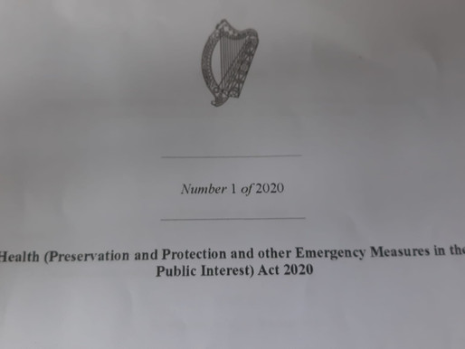 Call for action to block the continuation of the Health Act 2020 meant to expire on 9th of Nov