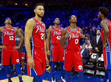 Are the 76ers in bad shape or the midst of a championship?