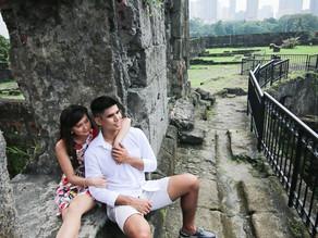 { Martin + Clarise } Intramuros Prenup Session | Manila Pre Wedding Photographer