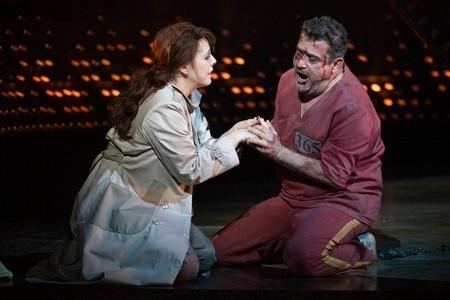 Tosca - Giselle Allen as Tosca and Rafael Rojas as Cavaradossi