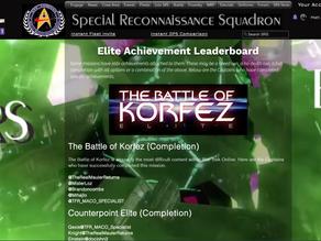 Elite Achievements Page