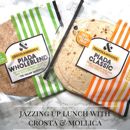Jazzing Up Lunch With Crosta & Mollica...