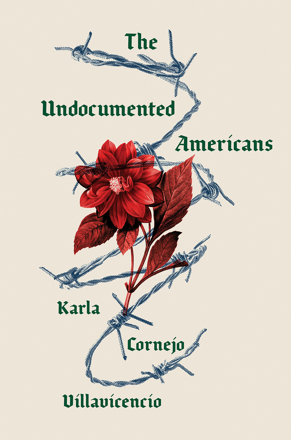 The Undocumented Americans by Karla Cornejo Villavicencio : the book slut book reviews thebookslut best floral book covers valentines day books