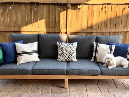 Outdoor DIY Sofa