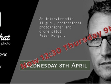 Andrew Appleton Photo Chat Episode 8 - an interview with Peter Morgan