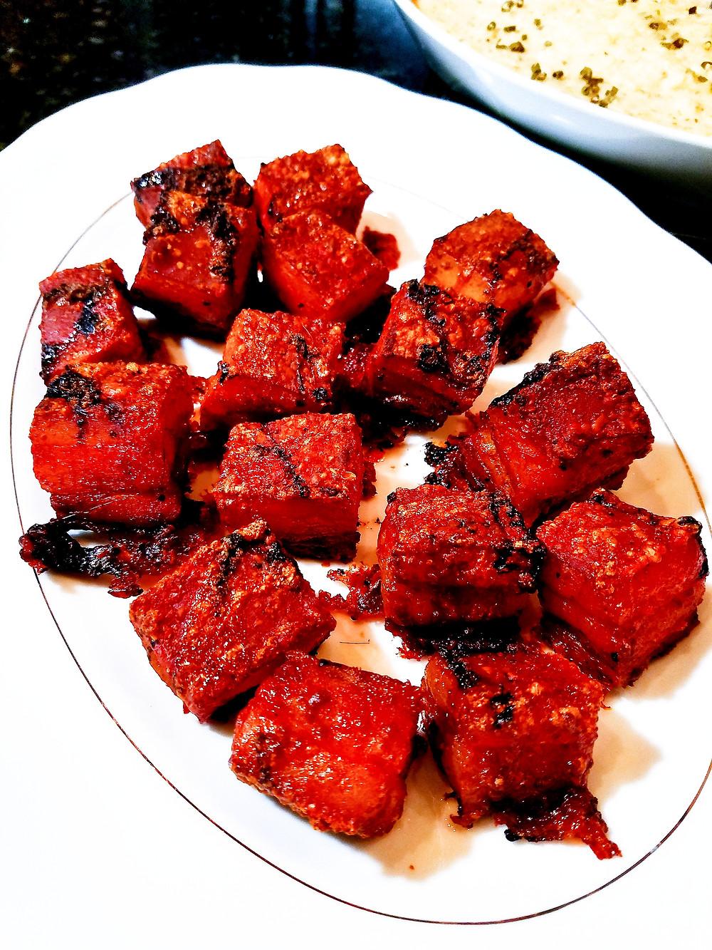 Salty, Sticky Sous Vide Pork Belly (Gluten-free, soy-free, dairy-free, grain-free)