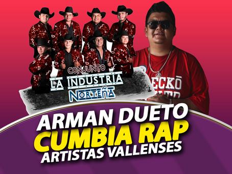 Arman dueto Cumbia Rap artistas vallenses - La Industria Norteña y RIELZ456