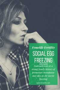 Social egg freezing