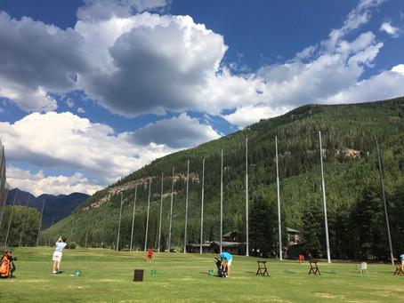 Lets go play golf in Vail Colorado!