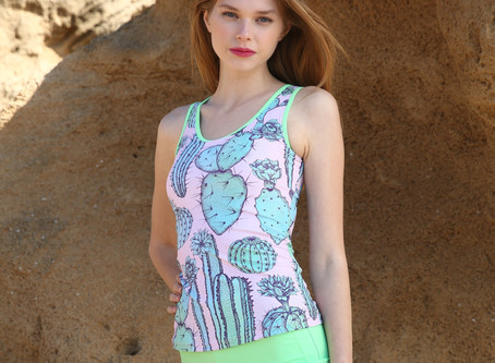 Freshen up your summer look with our colorful Tankini's