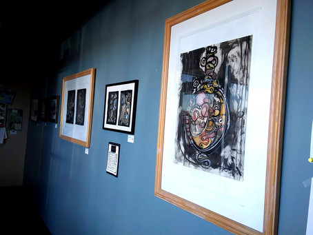 New and Old Work Up @ The French Press