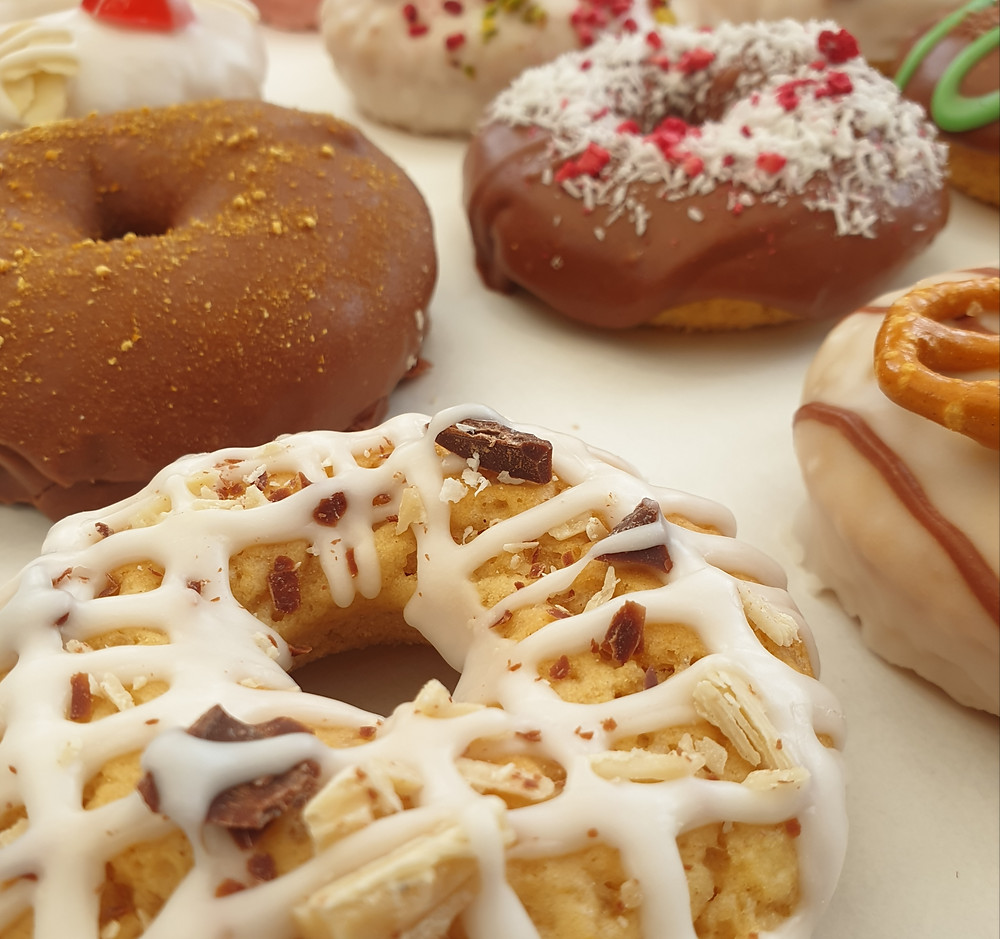 vegan doughnut selection