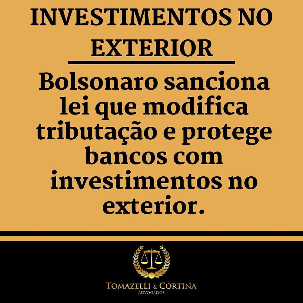 investimentos no exterior tributação