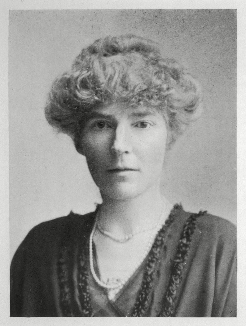Portrait of female explorer and diplomat, Gertrude Bell
