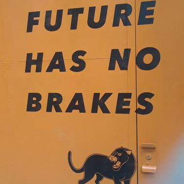 Kevin, The Future Has No Brakes
