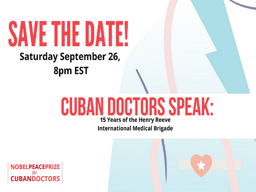 Cuban Doctors Speak