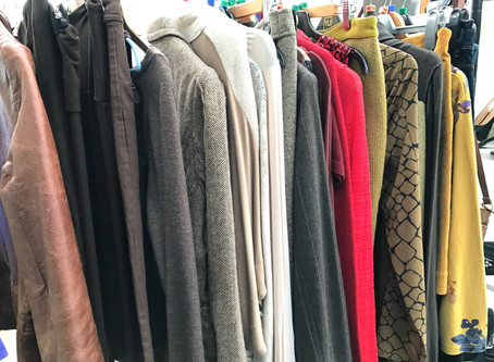 Sustainable Fashion:  Five ways you can take a new approach to your wardrobe now.