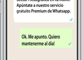 I Love Flexo Premium WhatsApp.