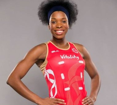 Eboni Usoro-Brown excited to wear the Roses dress for home crowd
