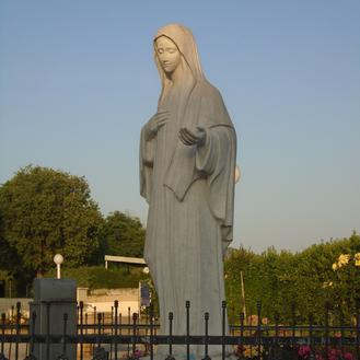 Con María Reina de la Paz en Medjugorje
