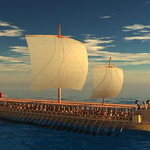 Antik Yunan savaş gemisi Trireme ile yolculuk