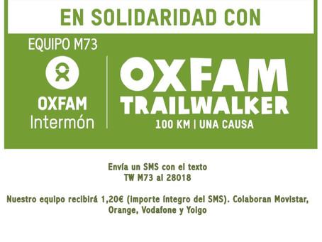 OXFAM TRAILWALKER 100 KM