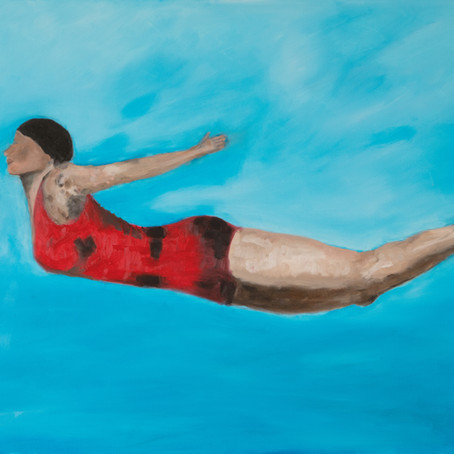 Abstract figurative painter Ane Howard talks about her art