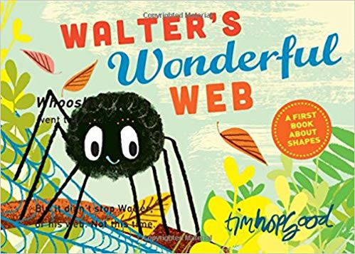 Why make a conventional web when you can make one that's astonishing? Meet an unwavering   spider who can't seem to spin a perfect web. Whoosh goes the wind as it blows each web away! But one thing Walter can spin is are remarkable shapes and eventually he spins the most impressive shape of all! It's better than perfect - it's a truly wonderful web. Walter's Wonderful Web is a perfect book teachers can use as an introduction to shapes.