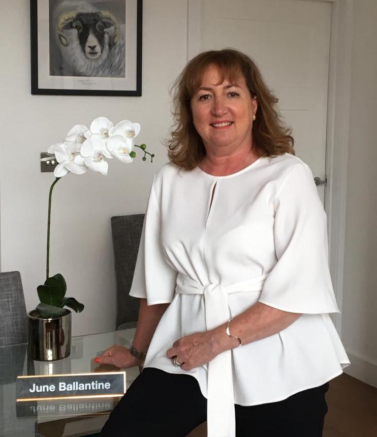 June Ballantine, Sales Manager at Scalesceugh Hall & Villas