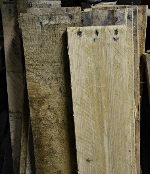 Pallet wood ready for projects