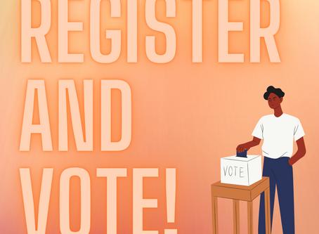 Register to Vote Now!