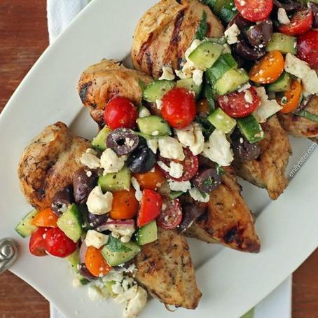 Spicy Mediterranean Chicken
