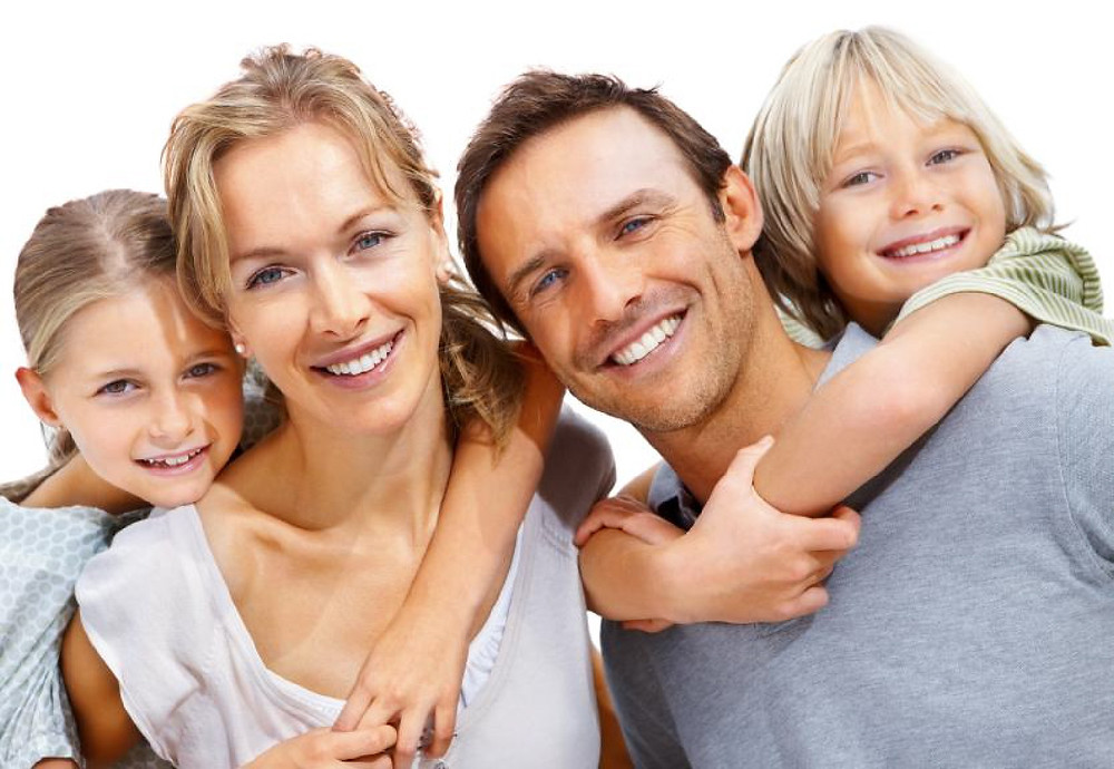 Blond Hair Family Stock Photo (Bing)