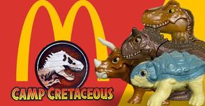 Estos son los juguetes de Camp Cretaceous que dará McDonalds