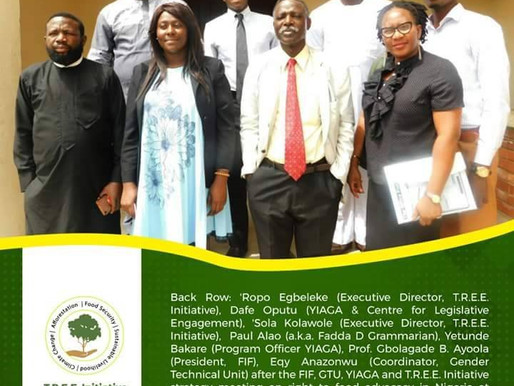 FIF, GTU,YAGA & T.R.E.E initiative in partnership to promote the right to food bill