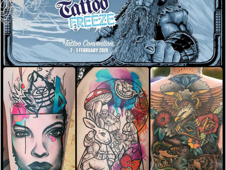 Tattoo Freeze Convention - Telford - 2 & 3 Feb 2019