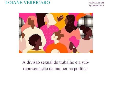 A divisão sexual do trabalho e a sub-representação das mulheres na política