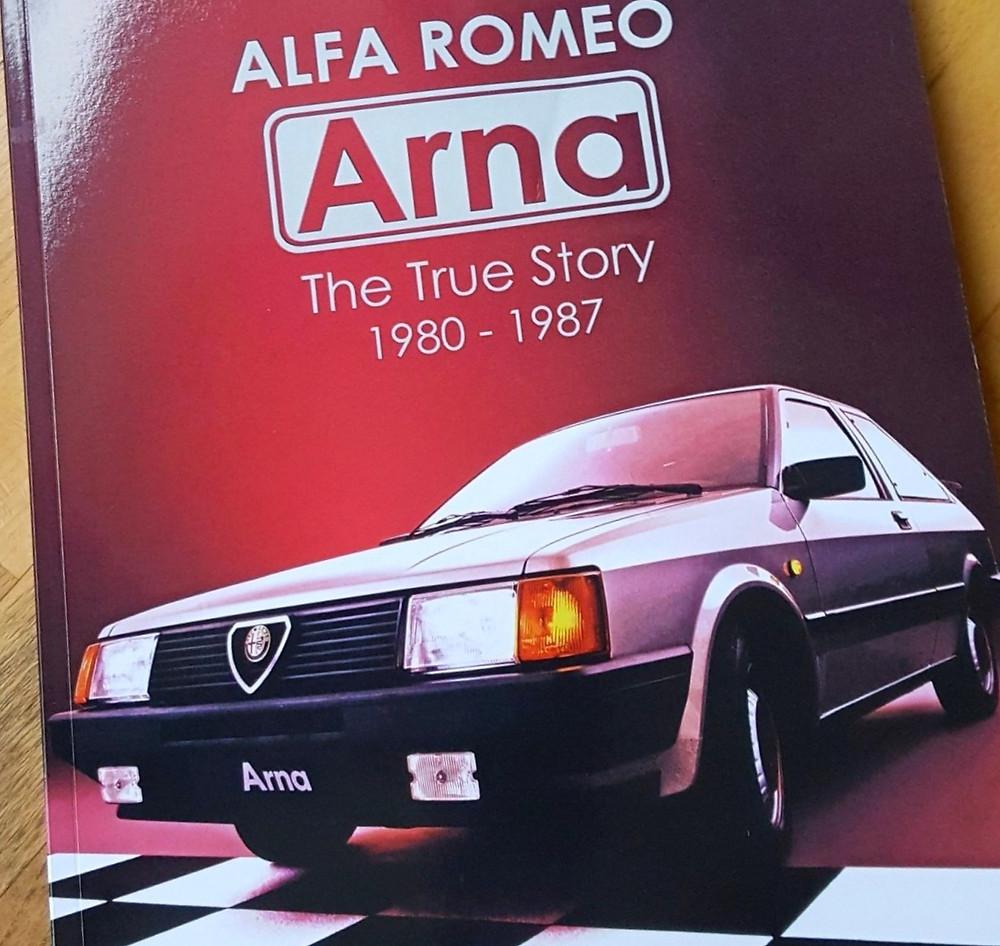 Matteo Licata Alfa Romeo Arna Libro
