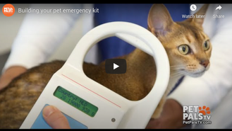 Building your pet emergency kit