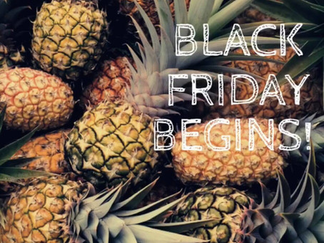 Black Friday Begins!