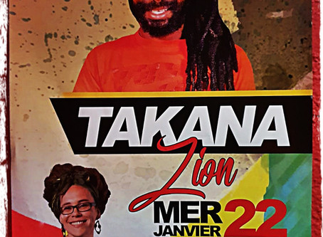 Live and direct : Takana Zion et Sista Blunty au New Morning (75) le 22 Janvier 2020.