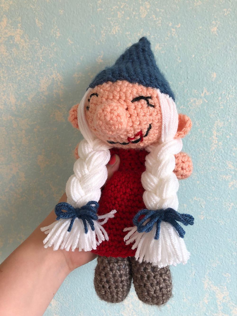 Kras the Gnome Crochet Pattern