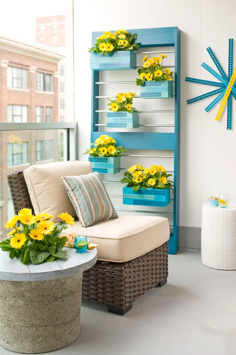 Are you in search of ideas to decorate a small balcony? No need to fret. Think outside the box and customize the limited square footage balcony you own.