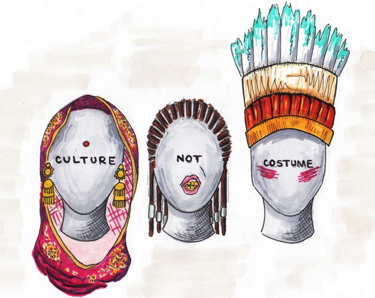 Culture not costume drawing